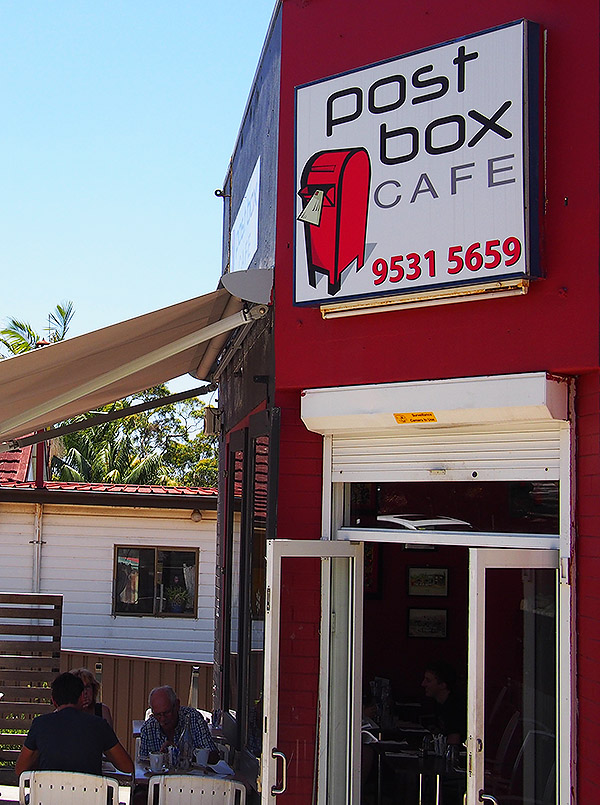 Post Box Cafe Yowie Bay