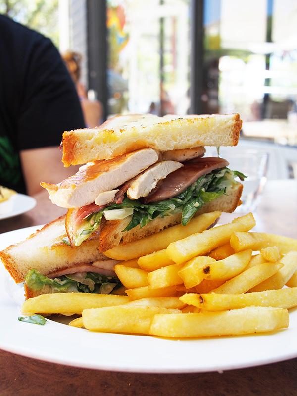 Post Box Cafe Caesar Sandwich