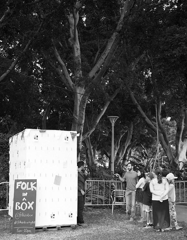 Folk in a Box Sydney Festival 2014