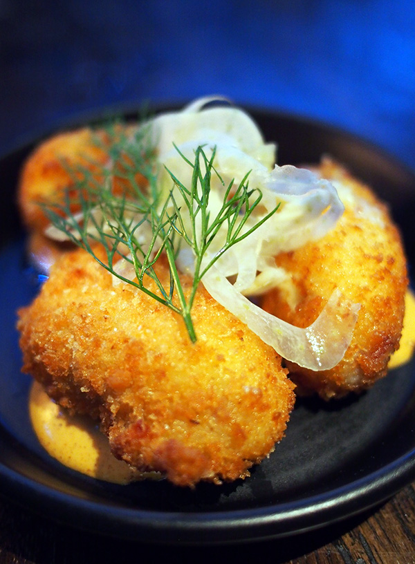 The Rook Lobster Croquettes