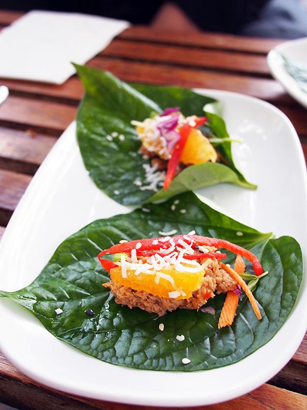 bodhi betel leaf
