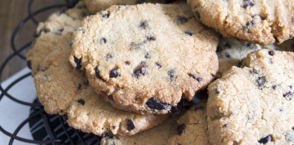 Choc Chip Cookies, Vegan & Gluten Free