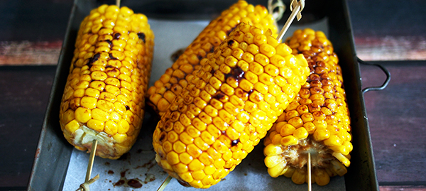 Japanese Style Grilled Corn