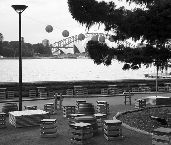 Madame Butterfly on Sydney Harbour