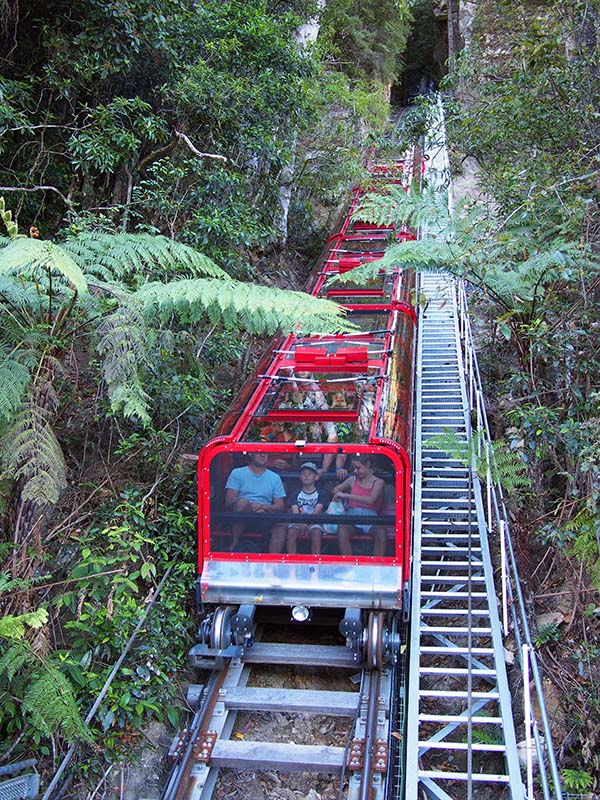 Scenic Railway Blue Mountains