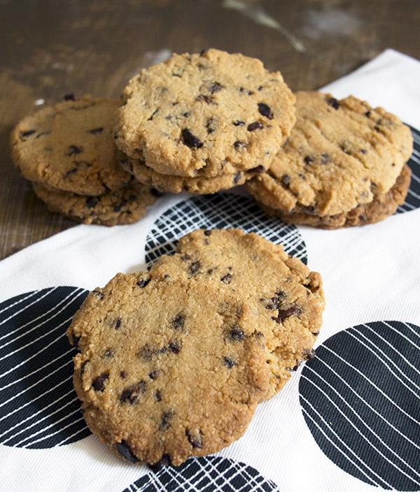 Vegan Choc Chip Cookies