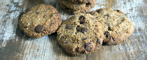 Hazelnut, Orange & Chocolate Cookies, Vegan & Gluten Free