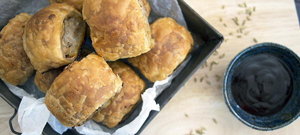 Pork, Apple & Fennel Sausage Roll Recipe & Bilpin Apple Picking
