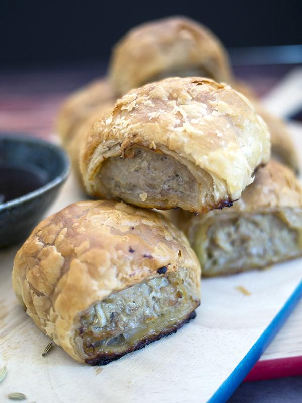 Pork Apple & Fennel Sausage Rolls