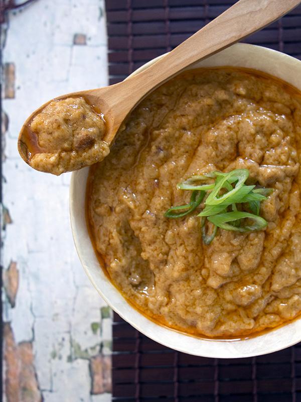 Cashew Satay Sauce