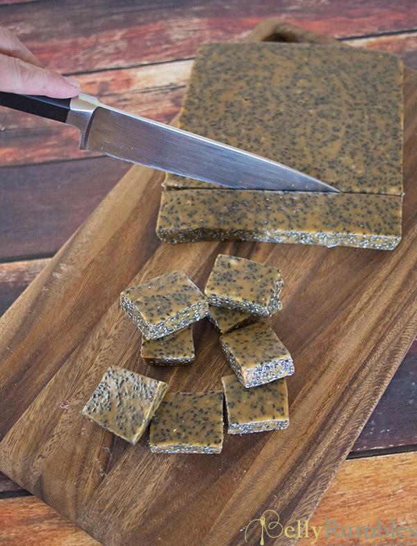 Black Sesame Caramels