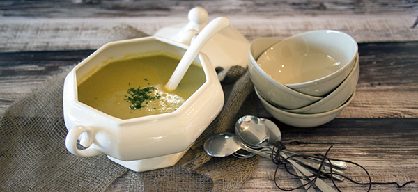 Spicy Celeriac & Apple Soup