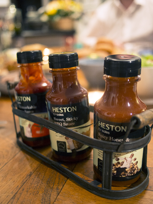 Heston for Coles