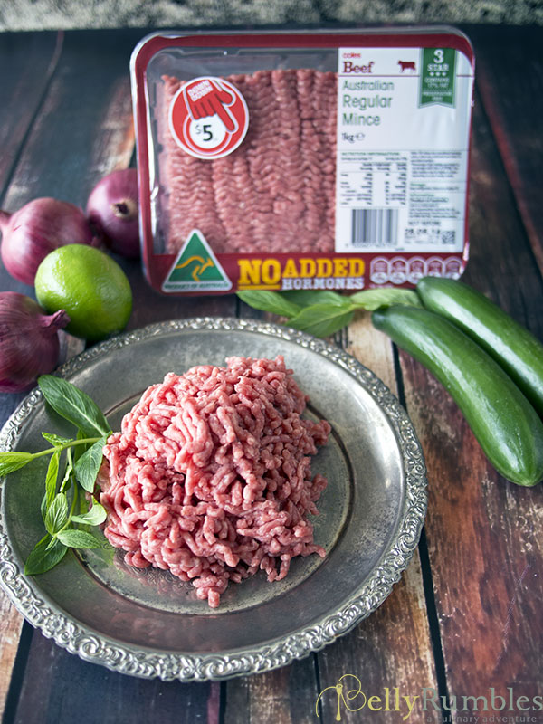 coles 3 star beef mince