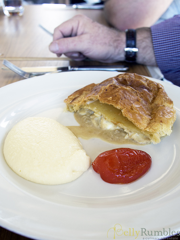 The Boathouse on Blackwattle Bay Snapper Pie