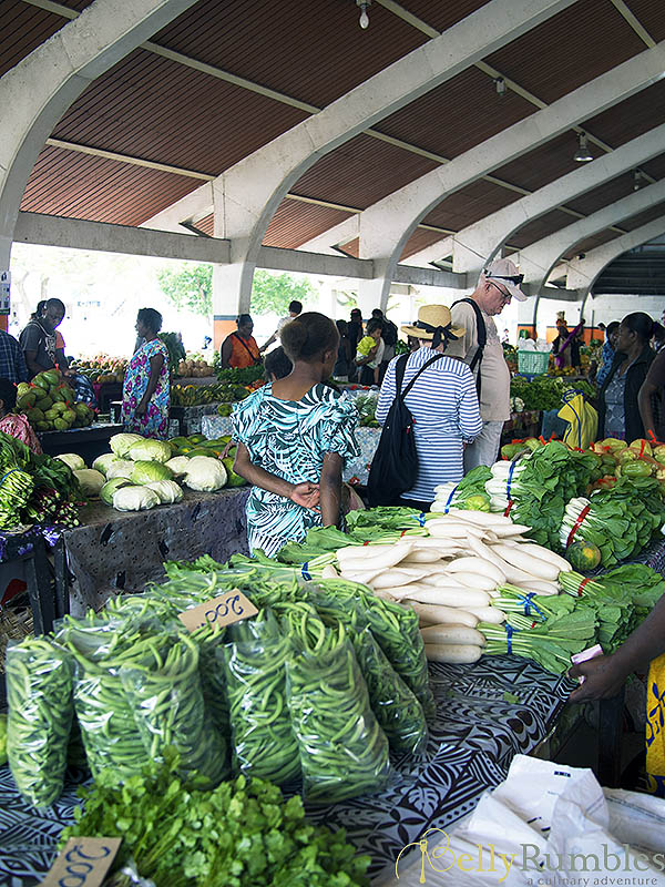 Fruit and Vegetable Markets Port Vila