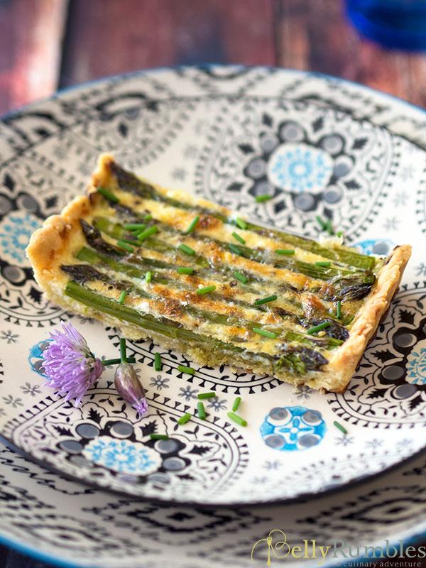 Asparagus & Pesto Tart
