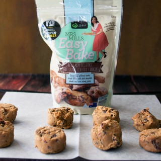Mrs Mills Easy Bake Cookies, Recipe to Riches