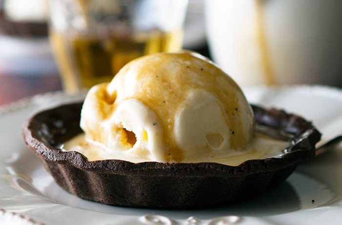Affogato Tarts, quick and simple dessert recipe that will have family or guests wanting more   www.bellyrumbles.com