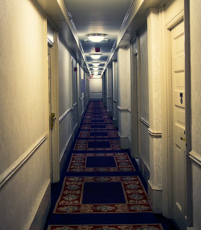 Hotel Congress Haunted Room
