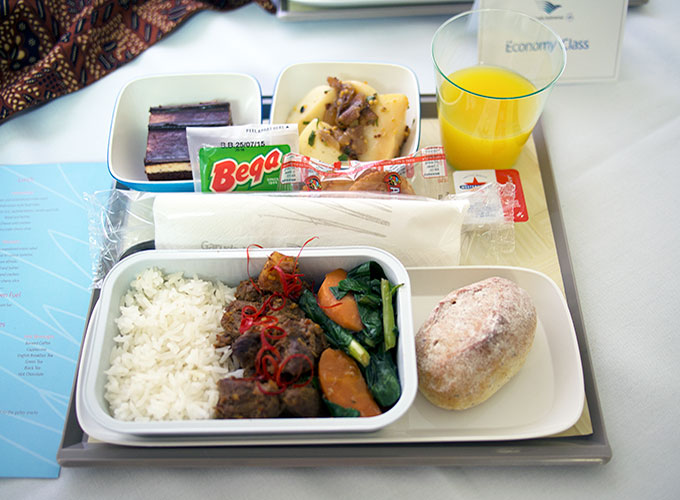 Garuda Food Menu