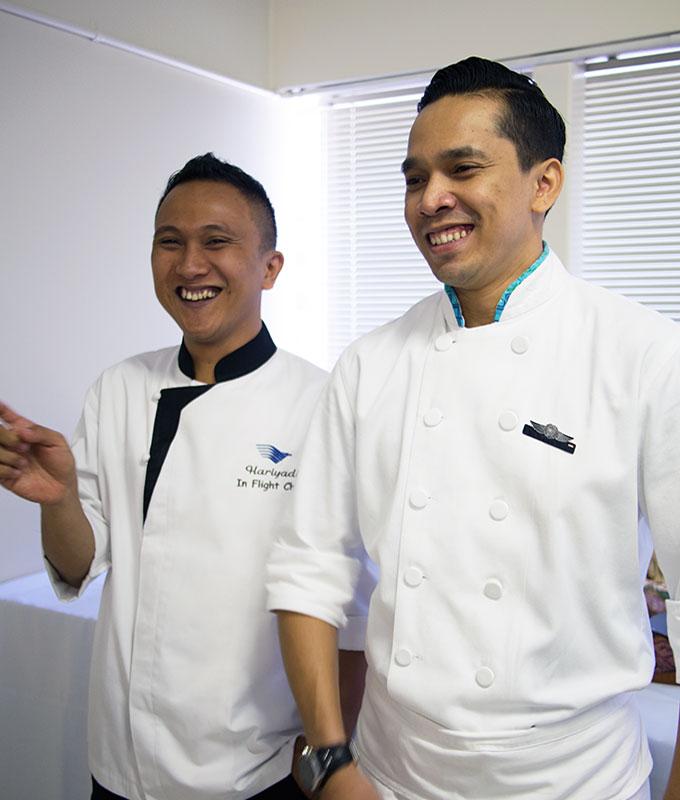 Garuda Indonesia Chefs | www.bellyrumbles.com