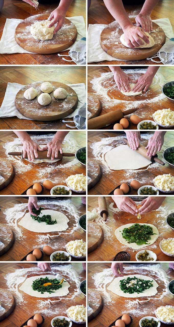 Easy Gozlame Recipe | www.bellyrumbles.com