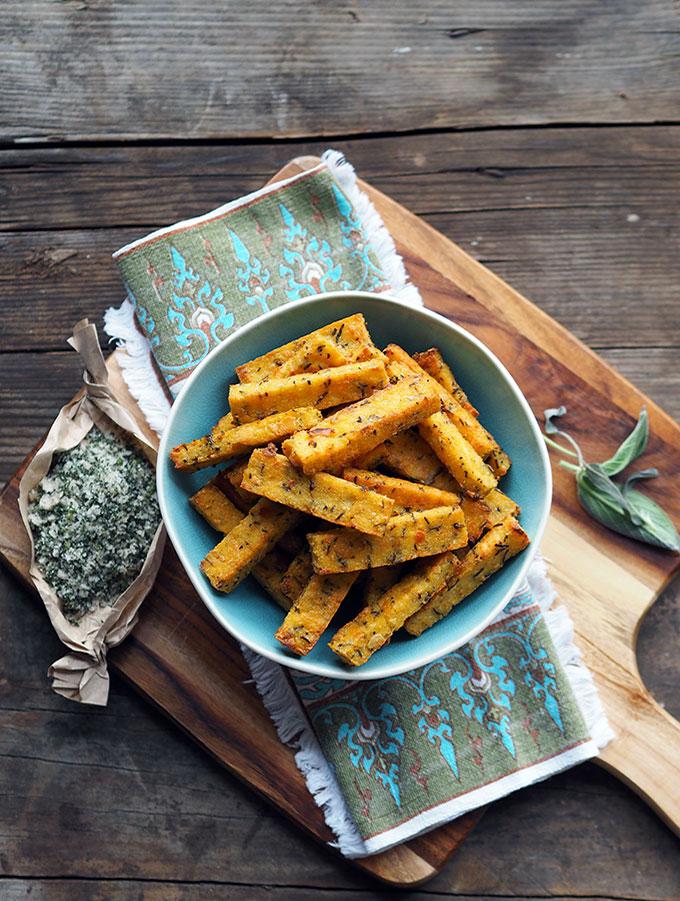 Ricotta & Polenta Chips