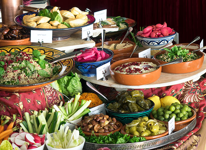 Aida-Buffet-Selection