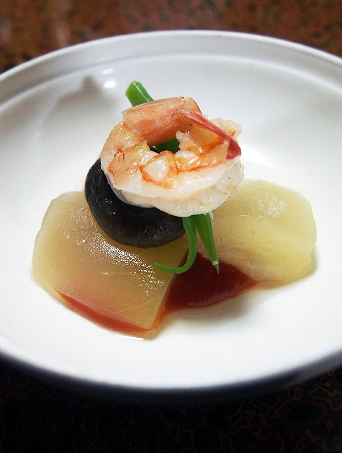 Seasonal boiled vegetable