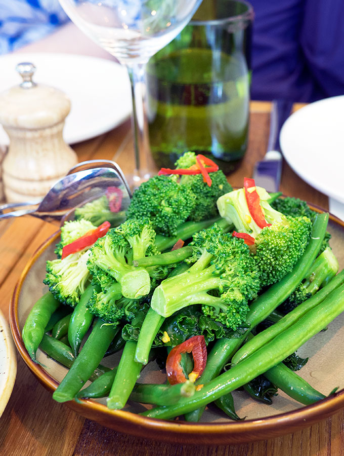 Chiswick Steamed Vegetables | www.bellyrumbles.com