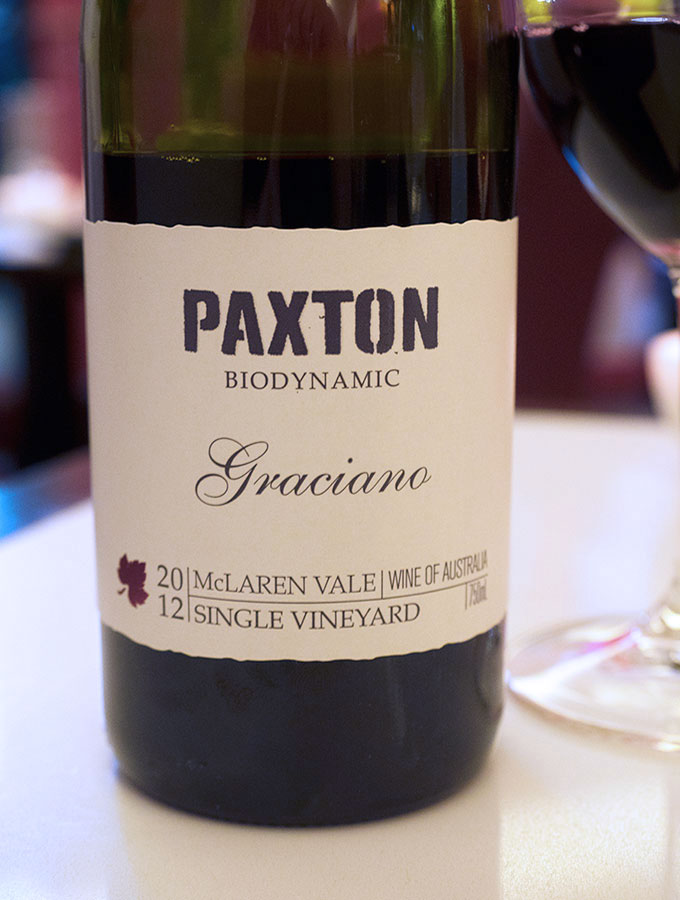 One6Eight Paxton Biodynamic Wine