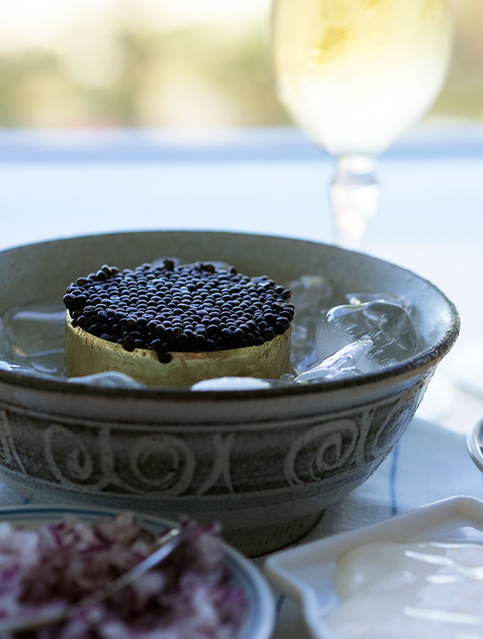 How to Serve Caviar | www.bellyrumbles.com