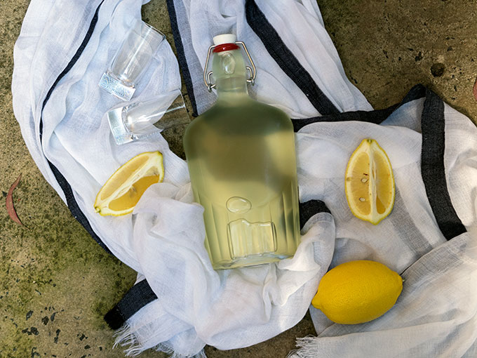 How to make Limoncello | www.bellyrumbles.com