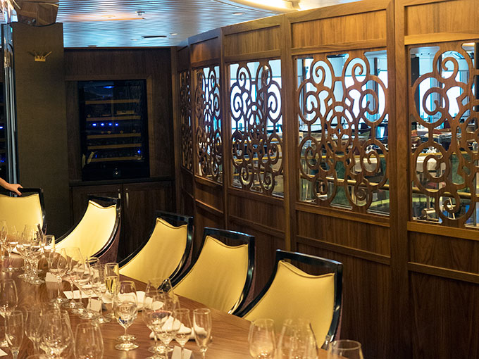 Royal Caribbean Legend of the Seas MKR Cruise Private Dining