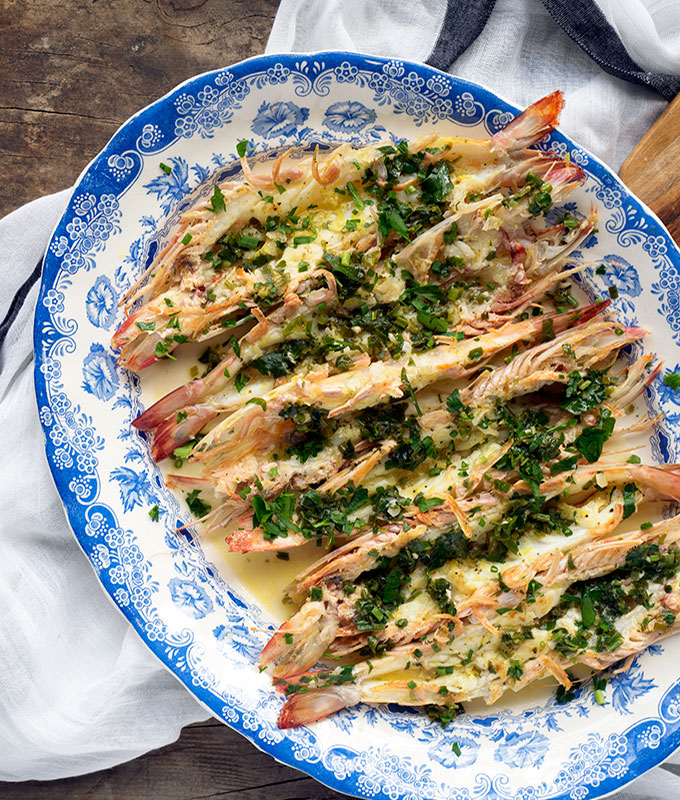 Best Garlic Butterfly Prawn Recipe