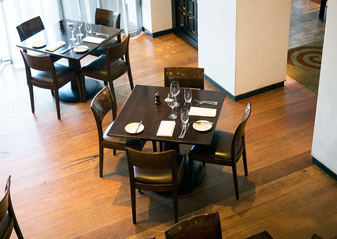 Hotel Lindrum Felt Restaurant, a boutique hotel in Melbourne