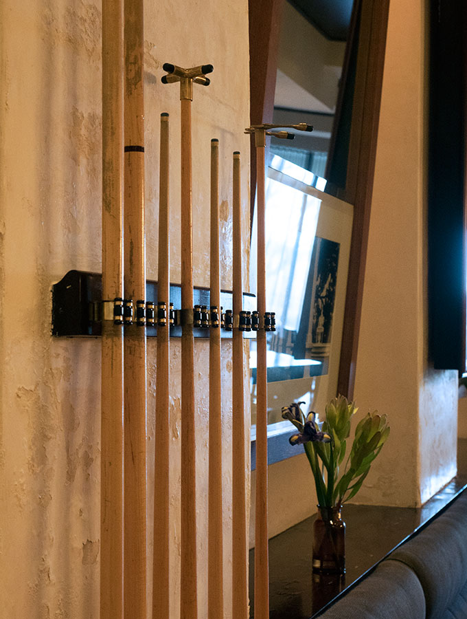 Hotel Lindrum bar, a boutique hotel in Melbourne