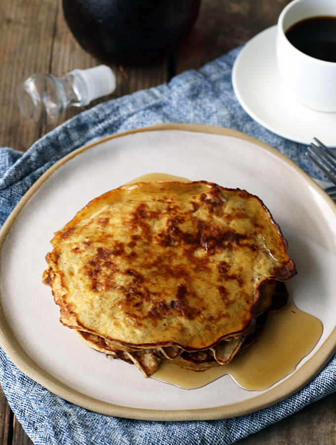 Two Ingredient Banana Pancakes Recipe