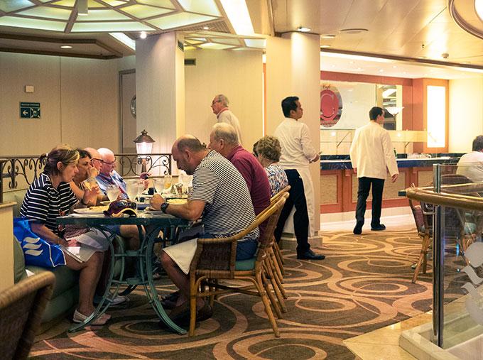 Sea Princess Cafe Corniche