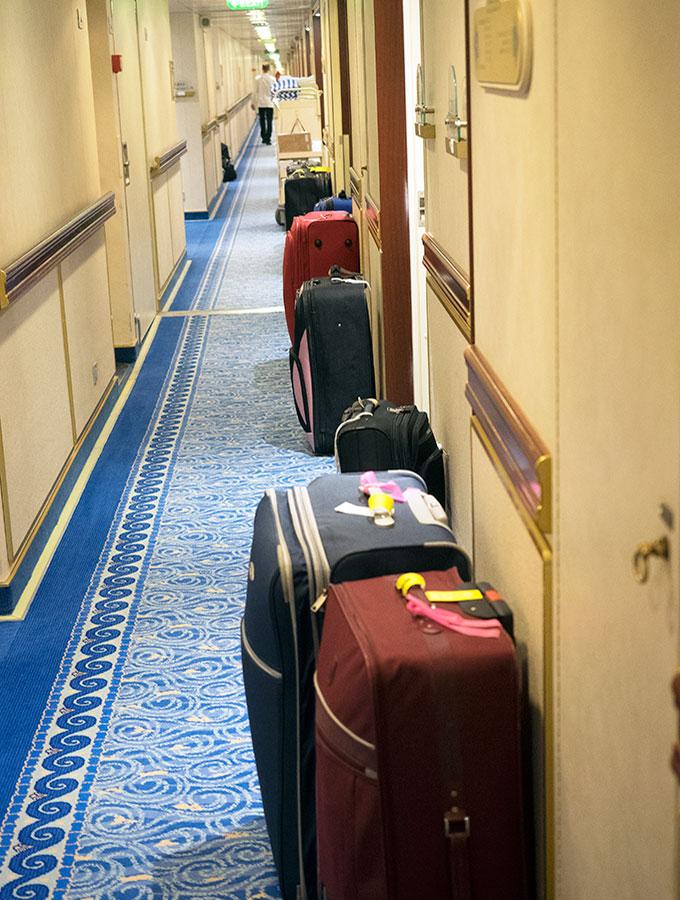 Dawn-Princess-Packed-Bags