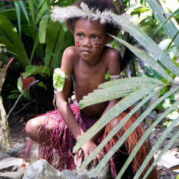 Alotau Village Girl