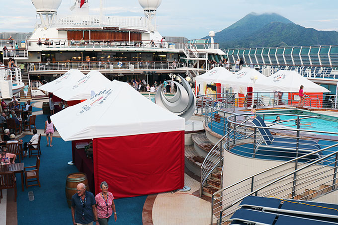 Princess Cruises Wine and Beer Garden