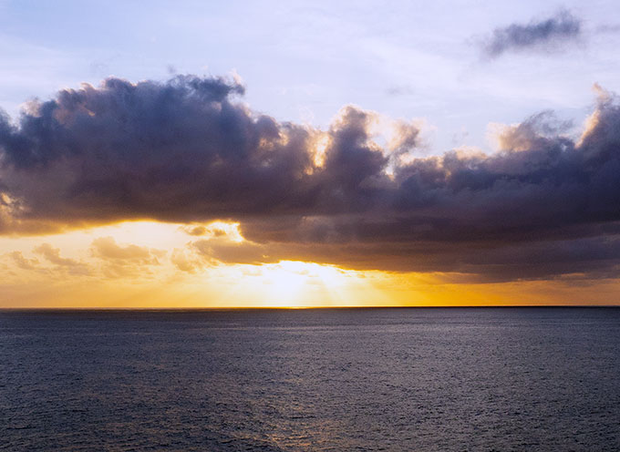 Princess Cruises Sunset at Sea