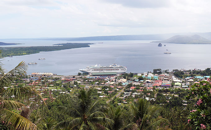 Rabaul Harbour PNG