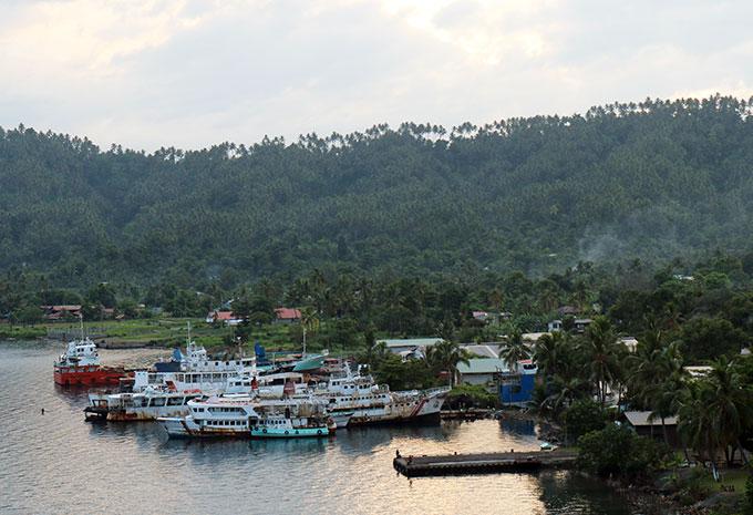 Rabaul Harbour PNG