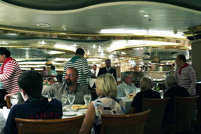 Sea Princess Rigoletto Dining Room