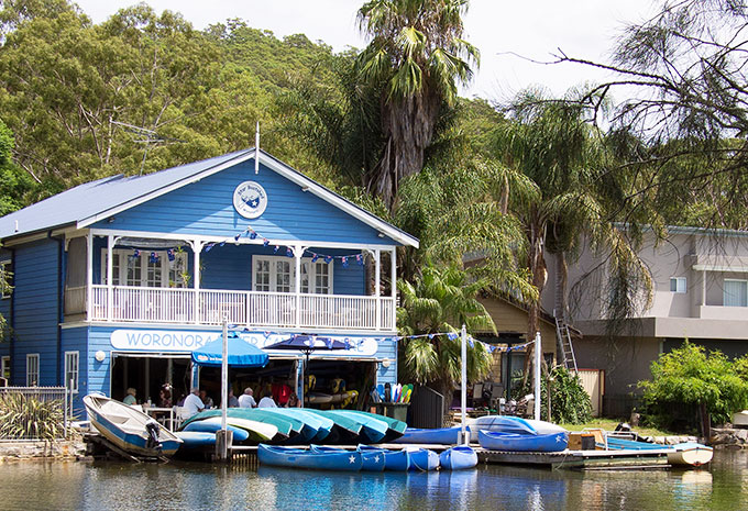 The Boatshed at Woronora
