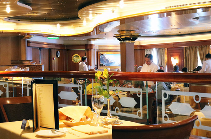 Sea Princess Traviata Dining Room
