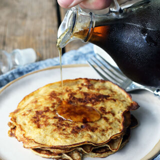 Two Ingredient Banana Pancake Recipe